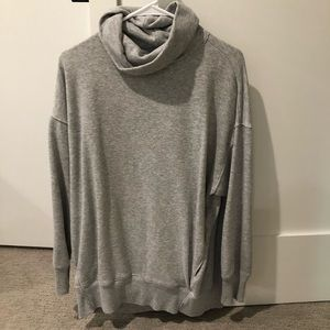 Aerie Oversized Turtleneck Sweatshirt